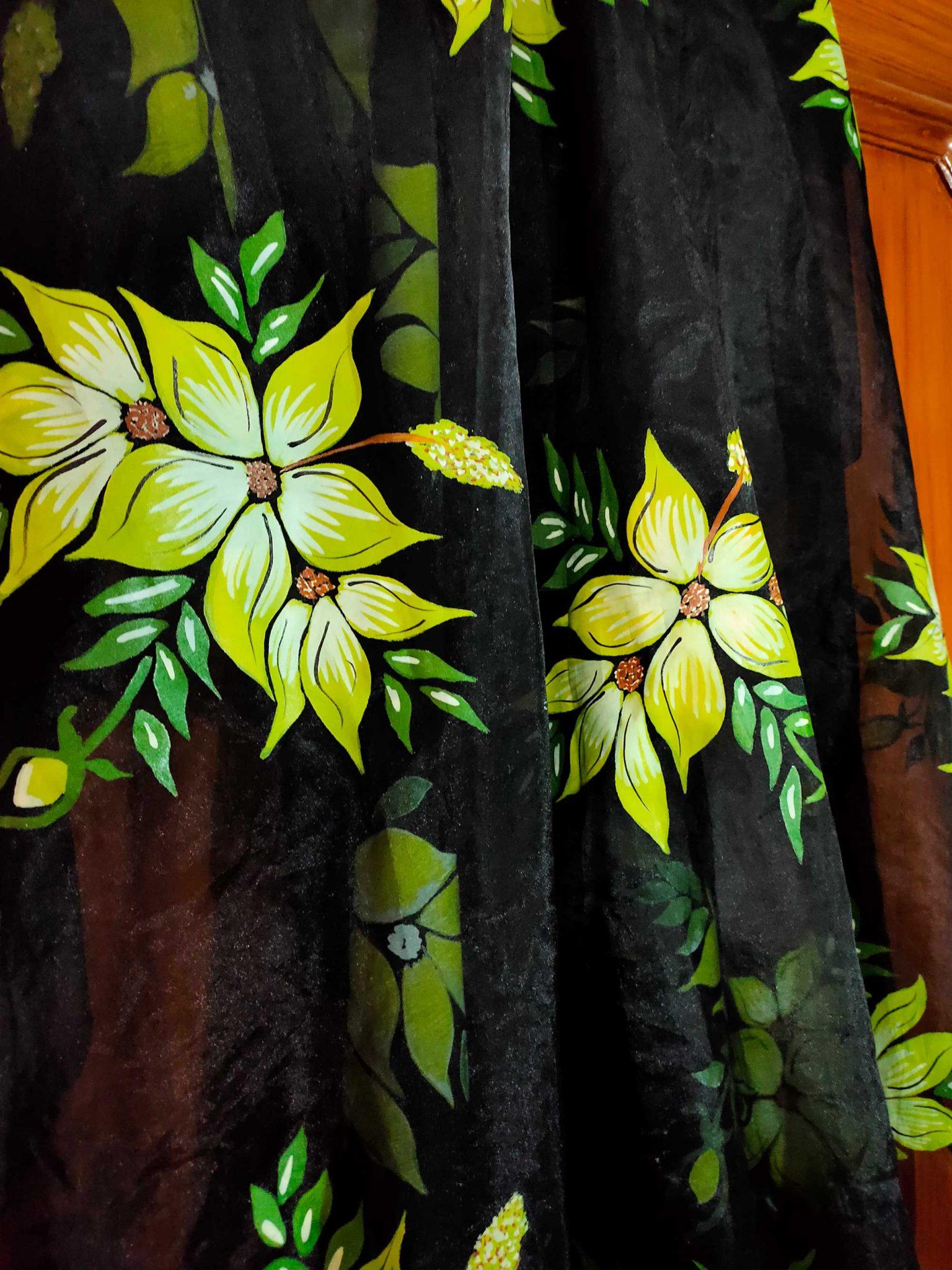 Floral Duppata Design 2